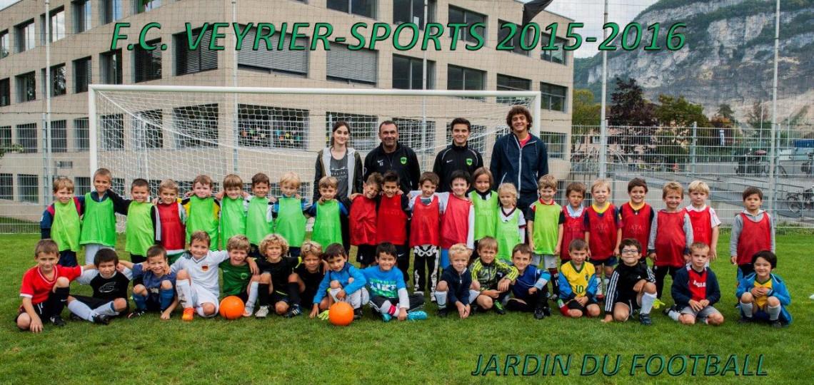 Jardin de football - 2015-2016